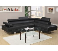Jezebel Sectional (black)