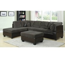Brooke Sectional olive color