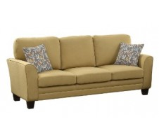 Adair Sofa in yellow