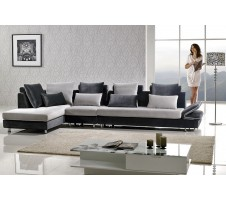 Leon Modern Sectional with Armless Chair