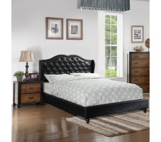 Allondra Platform Bed - Black