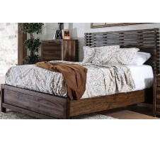 Amber Queen Panel Bed Frame