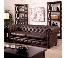 Chesterfield Sofa in brown