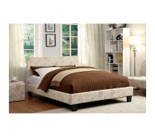 Winn Park Bed - White Fabric
