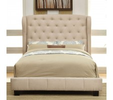 Florentina Queen Bed frame- ivory