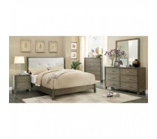 Aico 4pc Queen bedroom set - gray