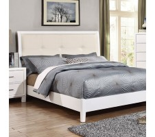 Arickson Queen platform Bed - white