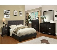 Perdella  4pc. Queen Bedroom set -gray