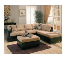 Harlow Sectional (saddle)