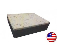 "Organico 10"" Queen Memory Foam Mattress"