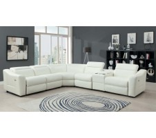 Kay Sectional with recliners and speaker system