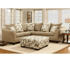 Vera Sectional with Pillows