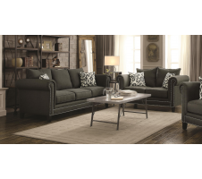 Everly 2piece Sofa and Loveseat