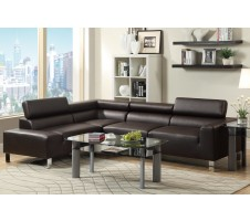 Eclipse 2pc. Sectional- espresso