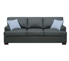 Oceanside Sofa- slate black