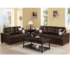 Colton Sofa & Loveseat set (espresso)