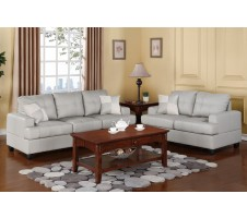 Colton Sofa & Loveseat Set (gray)