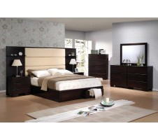 Romina Queen Bed with 2 drawers