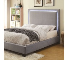 Orion Queen Platform Bed Frame with LED lighting