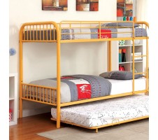 Rainbow Twin / Twin Bunk Bed - Orange