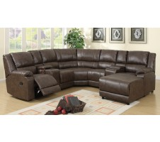 Newton Sectional with recliners