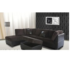 Rondell Sectional & Ottoman set