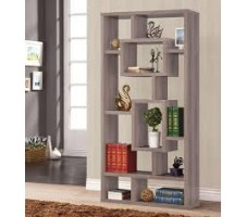 Soho Bookshelf distressed gray