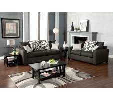 Hermosa Sofa + Loveseat set (gray)