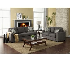 2pc. Wolver Sofa and Loveseat