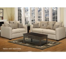 Vista Sofa and Loveseat Set