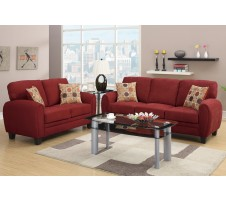Ruby Sofa and Loveseat