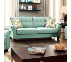 Claire Sofa in teal blue