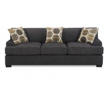Damascus Sofa - Charcoal
