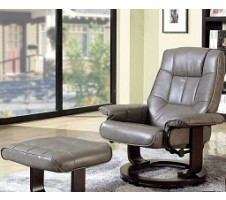 Stan Swivel Lounger and Ottoman