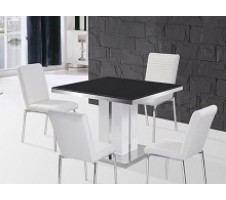Stockhold 5pc. Dining Set w/ white chairs