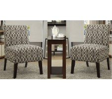 Venezia 3pc. Accent Chair set