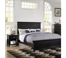 Vermont Queen Bed Frame in black