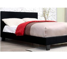 Winn Park Bed - Black Fabric