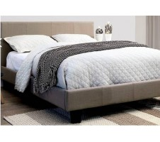Winn Park Bed - Light Grey Fabric