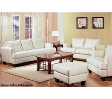 Samuel Sofa and Loveseat (cream)