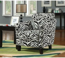 Zebra Pattern Chair