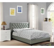 Zia Platform Bed - Silver