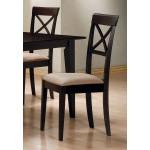 Mix & Match Rectangle Cross Back Chair