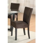 Bloomfield Chocolate Parson Chair
