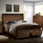 Elton Queen Bed Frame with Drawers