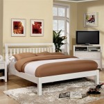 Corry Bed - White