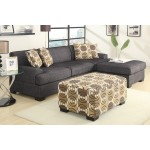 Damascus Sectional - Charcoal