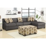 Damascus Sectional Large - Charcoal