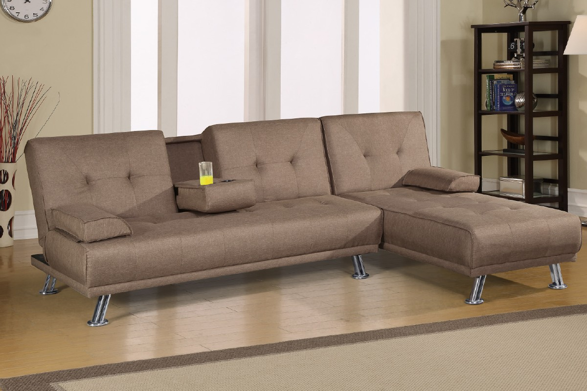 Sensational Lytton 2Pc Sectional Sofa Bed Futons Inzonedesignstudio Interior Chair Design Inzonedesignstudiocom