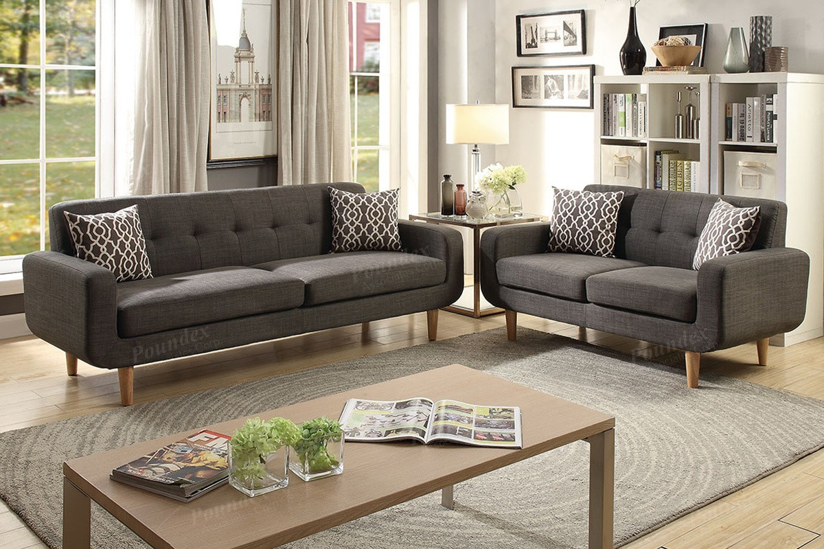 Sale Montreal 2 Piece Sofa And Loveseat With Accent